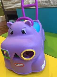 Little Tikes Hippo sorter. Walker. Ride n Play