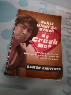 """""""Bakit di ka crush ng crush mo?"""" book"""
