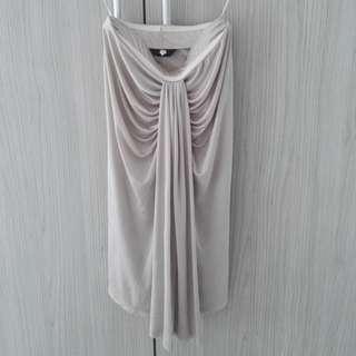 Shimmer Boob Tube Dress