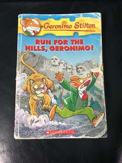 Geronimo Stilton Book #47 - Run for the Hills