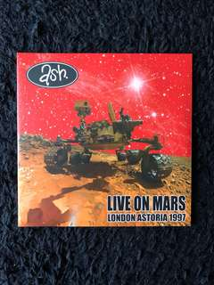 Ash - Live on Mars London Astoria 1977 Lp