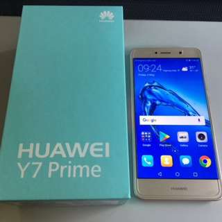 Huawei Y7 Prime 2017 - Almost New