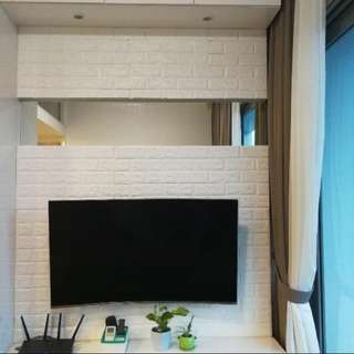 3D Foam Bricks Wallpaper - INSTOCK