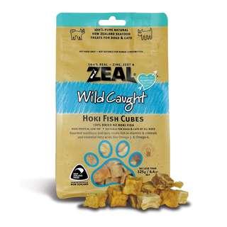 Zeal® Free Range Naturals Hoki Fish Skins Dog & Cat Treats 125g (BUY 2 FREE 1)