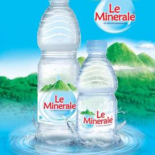 Le Mineral water