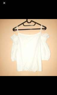 White Off Sholder / Sabrina Top