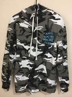 全新蝕讓可小議 Anti social social club hoodie