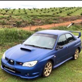 Blue WRX 2.0 Auto for rent