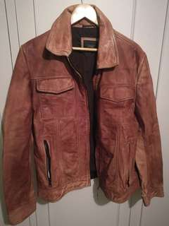 New Mens Buffalo Leather Jacket