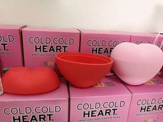 Heart shaped Ice cube maker for doorgifts