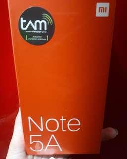 Xiaomi Redmi Note 5A kredit murah bunga 0% dapat pulsa selama setahun
