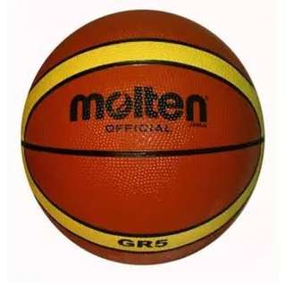 Molten GR5 Basketball with freebies
