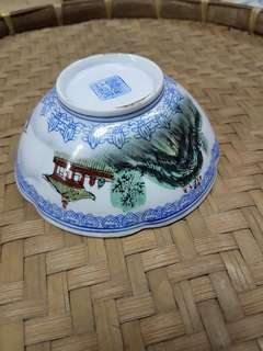 Vintage thin porcelàin chinese bowl