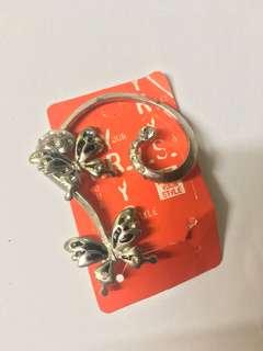 YRYS Butterfly Earrings