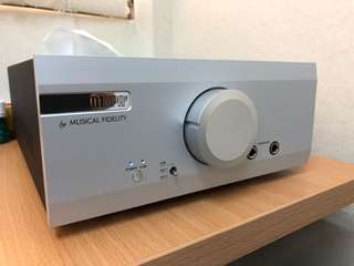 Musical Fidelity M1HPA Headphone Amp