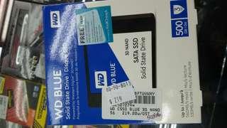 """WD blue 2.5""""SSD 500gb"""