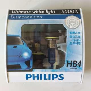 Philips DiamondVision HB4 5000K headlights