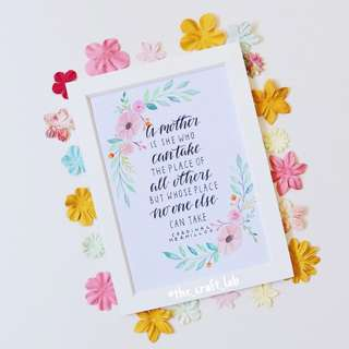 <Mother's Day Exclusive> Coral Primrose Frame Set