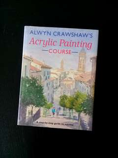 Acrylic Painting Course Hardcover by Alwyn Crawshaw #rayaletgo