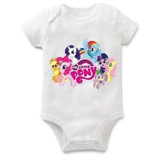 Little Pony Baby Romper Baby Cloths