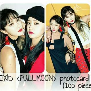 530 EXID FULL MOON PHOTOCARD 💫 (100 PIECES)