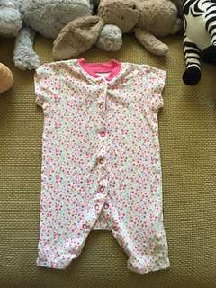 Mothercare Baby girl romper