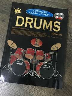 Drums Manual Book - guide to learning how to play the drums