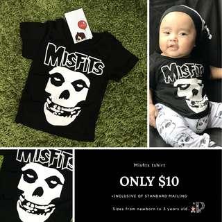 Misfits baby tshirt