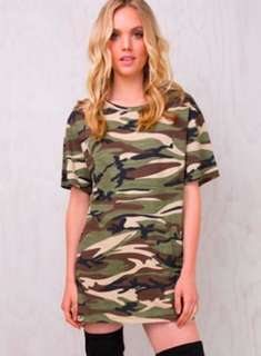 Princess Polly Camo Dress SIZE 6