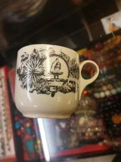 mini antique coffee cup