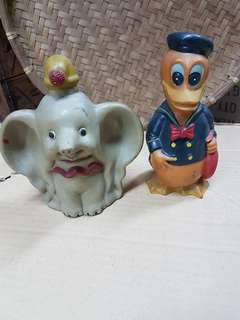 The Chartered bank walt disney coin bank