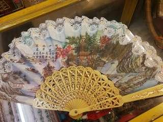 antique china fan