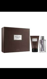 Abercrombie & Fitch First Instinct 2pcs gift set
