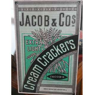 Vintage Jacob tin