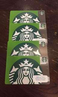 Starbucks Green Siren Card