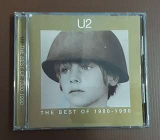 CD U2 - The Best Of 1980-1990 ( M'sia Press )