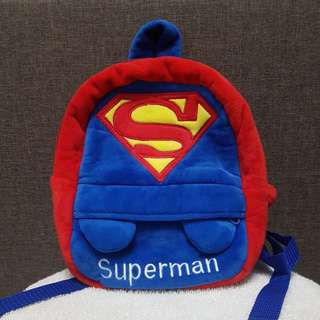Superman Backpack (used good condition)