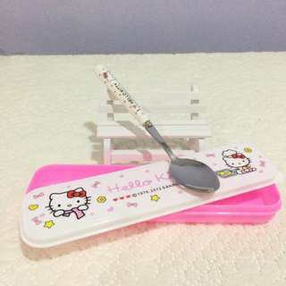 Hello Kitty Spoon with Box M900003M #MidMay75