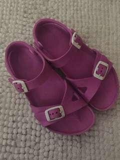 Authentic Birkenstock pink sandals
