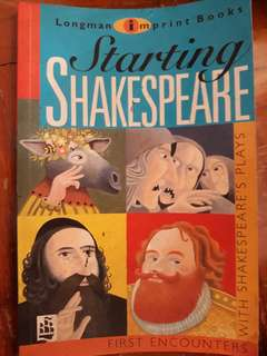 Starting Shakespeare