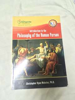 Introduction of the Philosophy of the Human Person