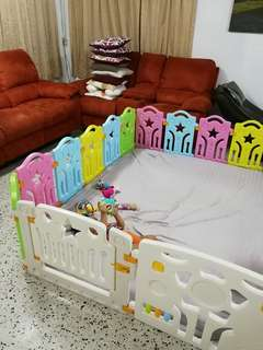 Ready stock!! Baby playard for baby crawling