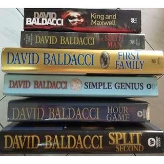 DAVID BALDACCI - King & Maxwell Series