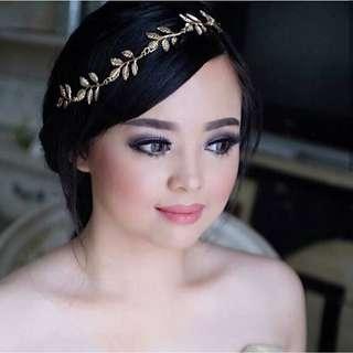 Headpiece Hairpiece Aksesoris Hiasan Rambut Pesta Bando Bandana Rambut