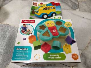 Fisher Price and Lego Duplo