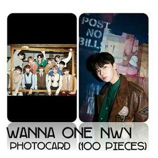 530 WANNA ONE PHOTOCARD 💫 (100 PIECES)