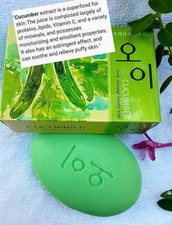 Cucumber Fresh Beauty Soap