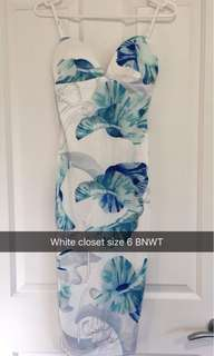 White Closest size 6 Dress new with tags