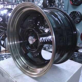 Velg work meister ring 16 inch terima cicilan proses 3 menit