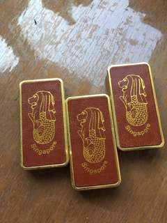 Singapore vintage lighter souvenirs collectible